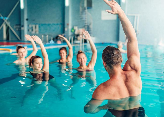 Cours de natation à Caissargues